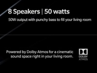 OnePlus TV получит 8 динамиков с Dolby Atmos