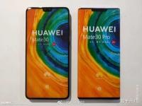 Huawei Mate 30 и Huawei Mate 30 Pro впервые позируют вместе, новые живые фото экрана-водопада