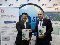 Huawei поддерживает развитие возобновляемой энергетики и умных энергосетей в Украине