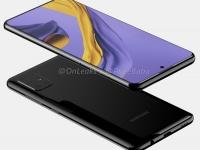 Четверная камера и экран с центральным отверстием: Samsung Galaxy A51 на качественных рендерах