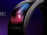 Необычные умные часы Amazfit X с гибким экраном выйдут ещё не скоро