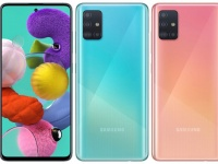 Samsung представила Galaxy A51: 6,5 Infinity-O AMOLED, 8 Гбайт и 48-Мп камера