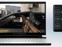 Alienware представила концепт смартфона в качестве второго экрана с игровой статистикой