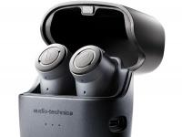 Полностью беспроводные наушники-вкладыши Audio-Technica получили активное шумоподавление