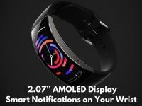 Смарт-часы Amazfit X с изогнутым экраном дебютировали на площадке Indiegogo