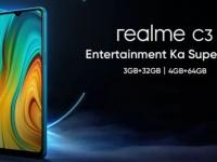 Слив характеристик Realme C3: мощный аккумулятор и большой экран