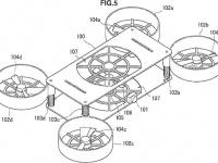 Судя по патенту, Sony работает над фотоаппаратом, раскладывающимся в дрон