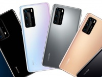 Семейное фото: ВСЕ Huawei P40 на общем рендере