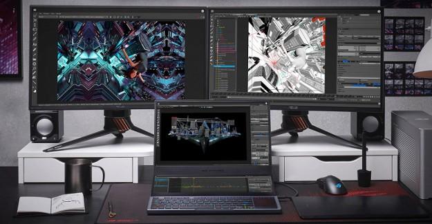 Встречайте ROG Zephyrus Duo 15 – новый геймерский ноутбук с двумя экранами от ASUS