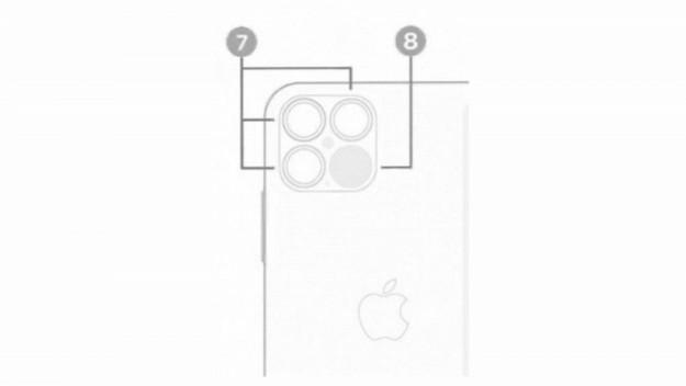 Утекшее изображение подтвердило лидар у iPhone 12 Pro