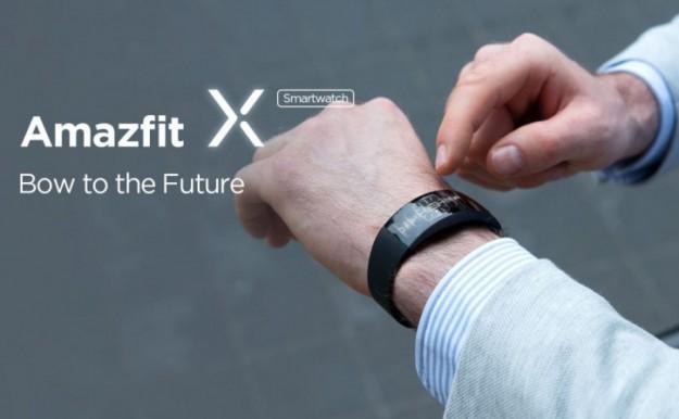 Дизайнерские умные часы Amazfit X: цена и сроки релиза