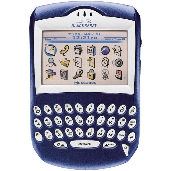 BlackBerry 7250, прошивка, характеристики