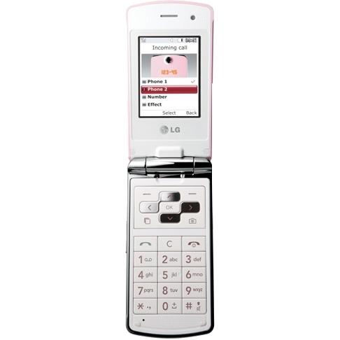 LG KF350, прошивка, характеристики