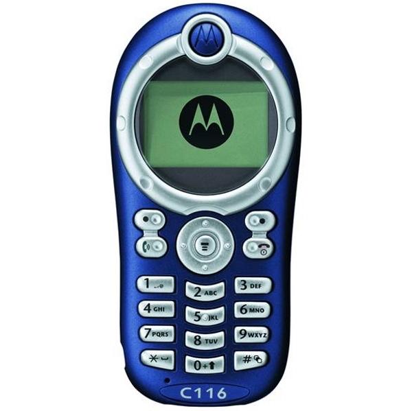 Motorola C116, прошивка, характеристики