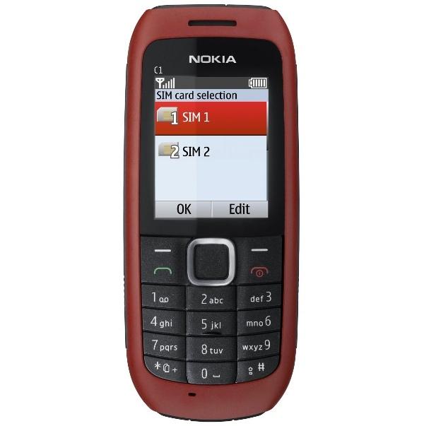Nokia C1-00, прошивка, характеристики