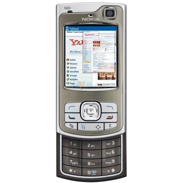Nokia N80 Internet Edition, прошивка, характеристики