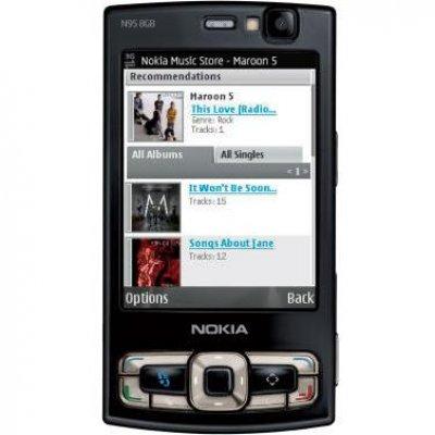 Nokia N95 8GB - достойное продолжение рода всем известной N95 (