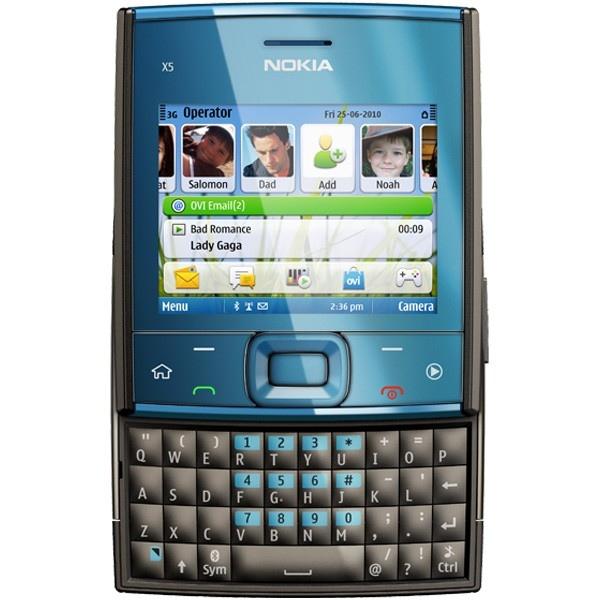 Nokia X5-01, прошивка, характеристики