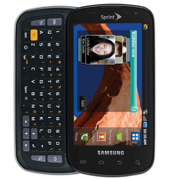Samsung Epic 4G, прошивка, характеристики