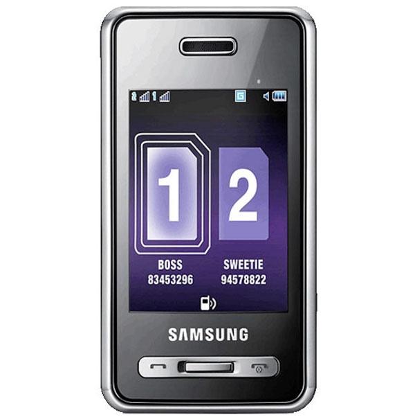 Samsung SGH-D980 Duos, прошивка, характеристики