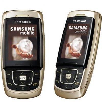 Samsung SGH-E830, прошивка, характеристики