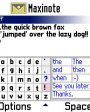 Maxinote v1.16 для Symbian 6.1, 7.0s, 8.0a, 8.1 S60