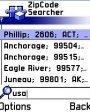 ZipCode Searcher v2.1 для Symbian 6.1, 7.0s, 8.0a, 8.1 S60