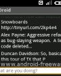 TwitterDroid v0.1.2 для Android OS