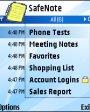SafeNote v1.0 для Symbian OS 9.х S60