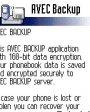 AVEC Backup v1.0 для Symbian 6.1, 7.0s, 8.0a, 8.1 S60
