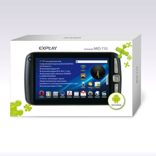 Explay MID-710 2Gb, прошивка, характеристики