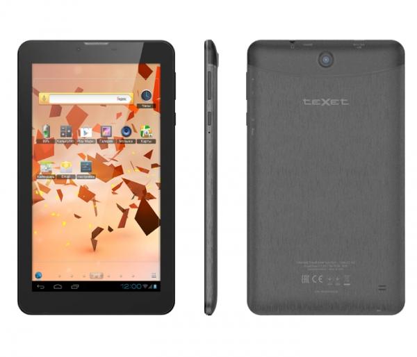 teXet X-pad NAVI 7.2 3G, прошивка, характеристики