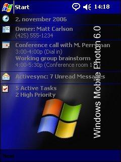 Windows Mobile Photon 6.0 - скриншот 1