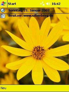 yellow flower - скриншот 1