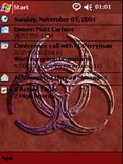 Biohazard logo - скриншот 1