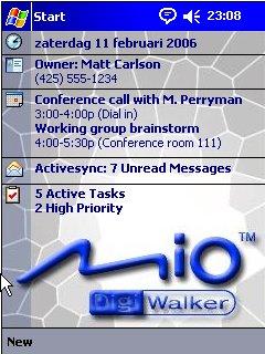 MioDigiwalker Blue - скриншот 1