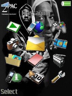 Tupac Theme 2pac - скриншот 2