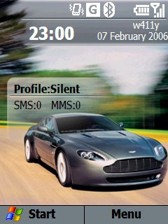 Aston Martin Homescreen - скриншот 1
