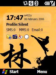 Samurai Homescreen - скриншот 1
