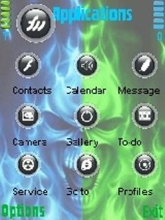 Skull Fire - скриншот 2