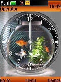 Glod Fish Clock - скриншот 1