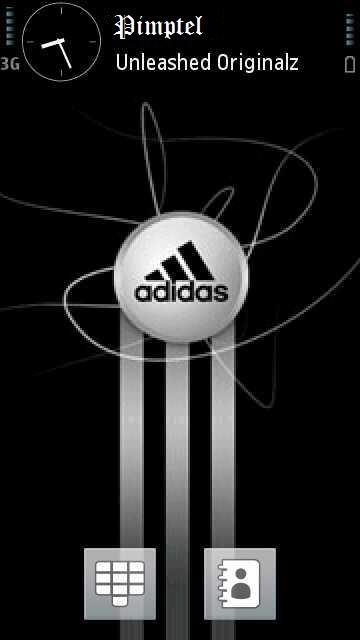 Adidas Black - скриншот 1