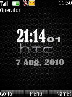 Htc Clock - скриншот 1