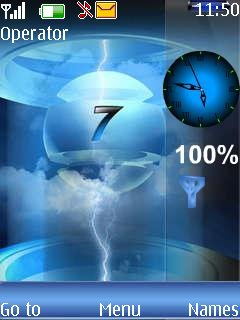 Windows7 Clock - скриншот 1