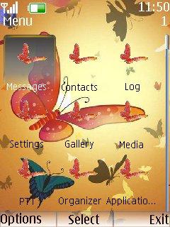 Butterfly Clock - скриншот 2