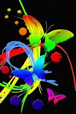 neon butterfly - скриншот 1