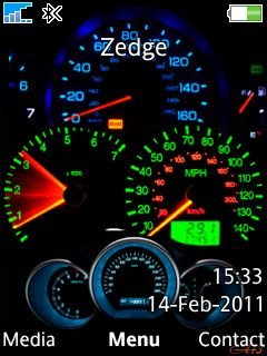 Speedometer Neon - скриншот 1