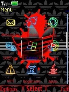 Neon Adidas - скриншот 2
