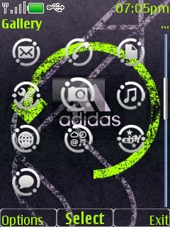 Adidas Clock - скриншот 2