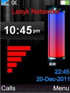 Battery Clock - скриншот 1